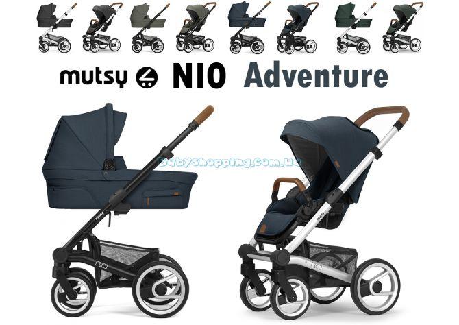 Универсальная коляска 2 в 1 Mutsy Nio Adventure 2021 ����, �������� | Babyshopping