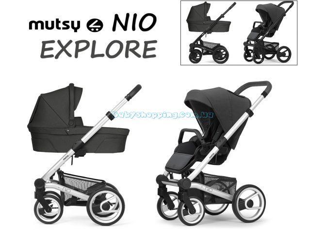Универсальная коляска 2 в 1 Mutsy Nio Explore 2020 ����, �������� | Babyshopping