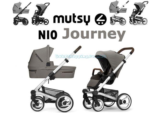 Универсальная коляска 2 в 1 Mutsy Nio Journey 2020 ����, �������� | Babyshopping