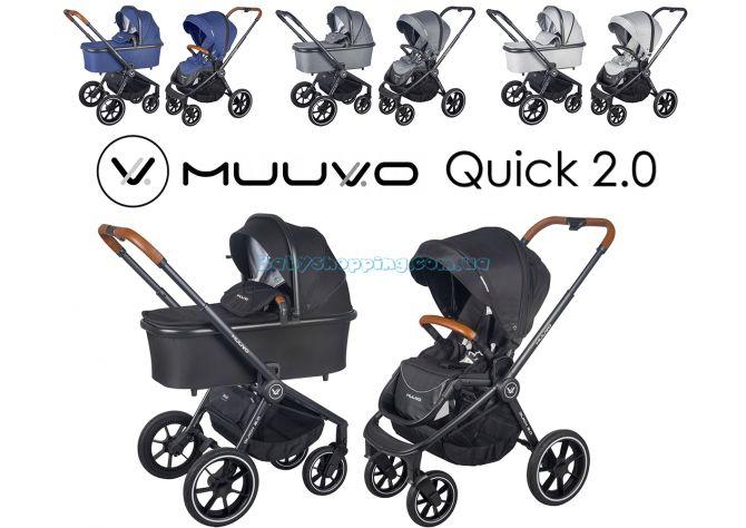 Универсальная коляска 2в1 Muuvo Quick 2.0  ����, �������� | Babyshopping