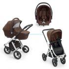 Детская коляска 3 в 1 Neonato Puro Solid  ����, �������� | Babyshopping