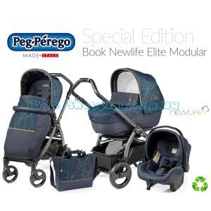 Детская коляска 3 в 1 Peg-Perego Book 51 Elite NewLife Elite Modular фото, картинки | Babyshopping