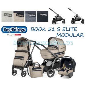 Универсальная коляска 3 в 1 Peg-Perego Book 51 S Elite Modular Luxe Collection  фото, картинки | Babyshopping