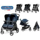 Прогулочная коляска для двойни Peg-Perego Book For Two Classico  ����, �������� | Babyshopping
