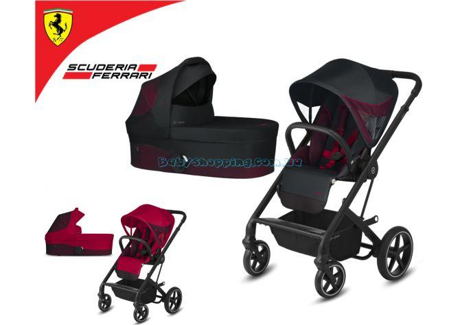 Универсальная коляска 2 в 1 Cybex Balios S Lux for Scuderia Ferrari ����, ��������   Babyshopping