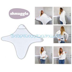 Полотенце-уголок для купания Shnuggle фото, картинки | Babyshopping