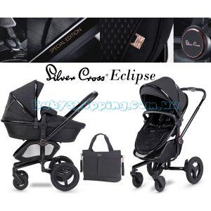 Дитяча коляска 2 в 1 Silver Cross Surf Eclipse Special Edition фото, картинки | Babyshopping