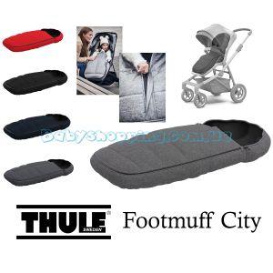 Теплый конверт Thule Footmuff City фото, картинки   Babyshopping