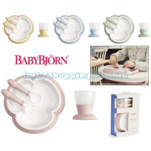 Детский набор для кормления BabyBjorn  фото, картинки | Babyshopping