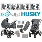 Универсальная коляска 2 в 1 Baby Design Husky 2021 ����, �������� | Babyshopping