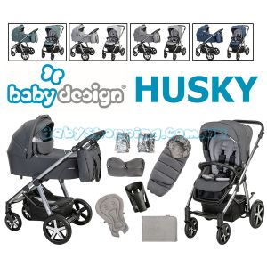 Детская коляска 2 в 1 Baby Design Husky 2021 фото, картинки | Babyshopping