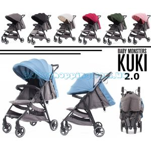 Прогулянкова коляска Baby Monsters Kuki фото, картинки | Babyshopping