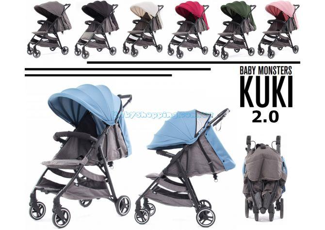 Прогулочная коляска Baby Monsters Kuki ����, �������� | Babyshopping