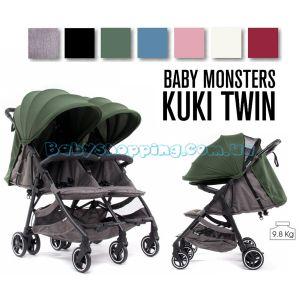 Прогулянкова коляска для двійні Baby Monsters Kuki Twin фото, картинки | Babyshopping