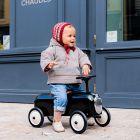 Детская машинка толокар Baghera Racer Black ����, �������� | Babyshopping