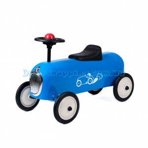 Дитяча машинка-толокар Baghera Racer Blue  фото, картинки | Babyshopping