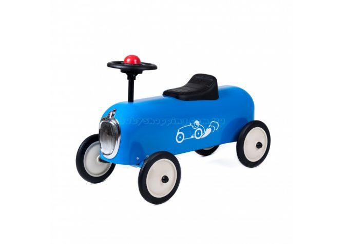 Детская машинка толокар Baghera Racer Blue  ����, ��������   Babyshopping