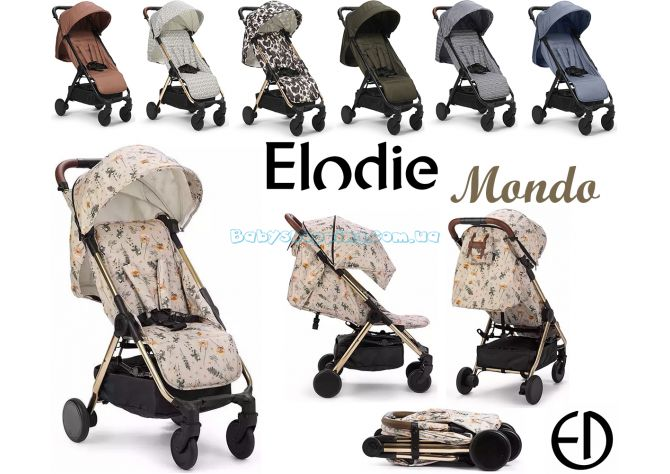 Прогулочная коляска Elodie Details Mondo  ����, �������� | Babyshopping