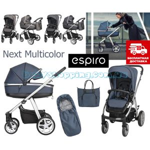 Дитяча коляска 2 в 1 Espiro Next Multicolor фото, картинки   Babyshopping