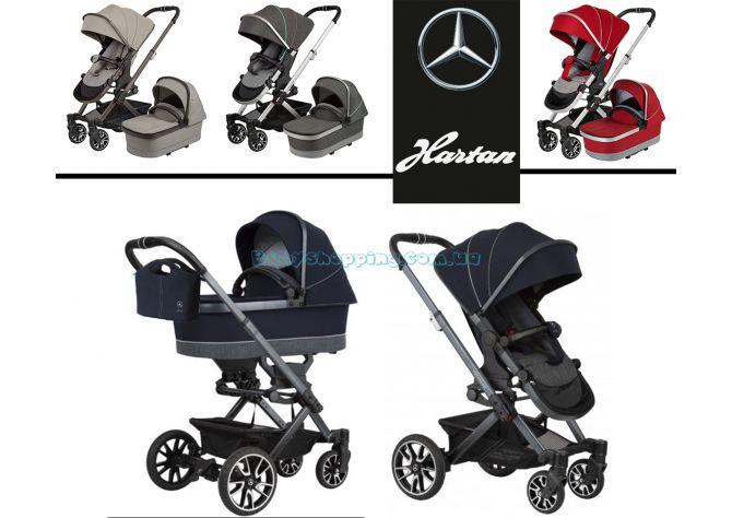 Детская коляска 2 в 1 Hartan Avantgarde Mercedes-Benz Collection  ����, �������� | Babyshopping