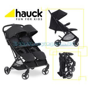 Прогулочная коляска для двойни Hauck Swift X Duo фото, картинки   Babyshopping