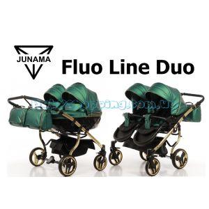 Коляска для двійні 2 в 1 Junama Fluo line Duo фото, картинки | Babyshopping