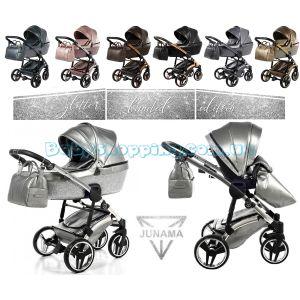 Дитяча коляска 2 в 1 Junama Termo Glitter limited Edition фото, картинки | Babyshopping