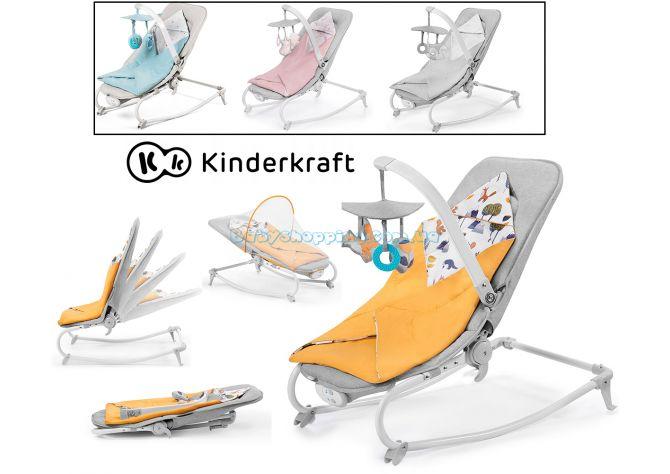 Шезлонг-качалка Kinderkraft Felio ����, �������� | Babyshopping