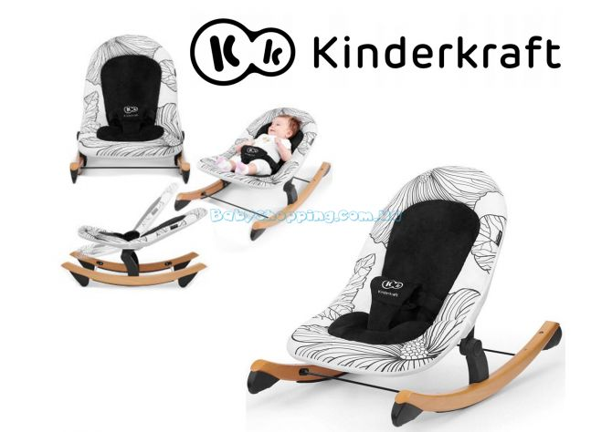 Шезлонг-качалка Kinderkraft Finio ����, ��������   Babyshopping