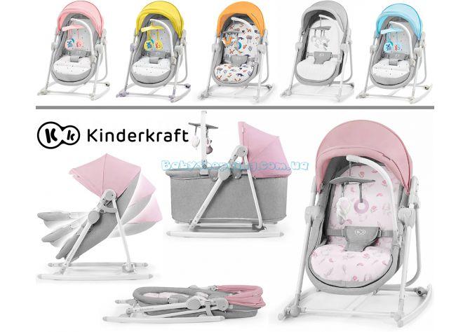 Шезлонг-качалка 5в1 Kinderkraft Unimo ����, �������� | Babyshopping