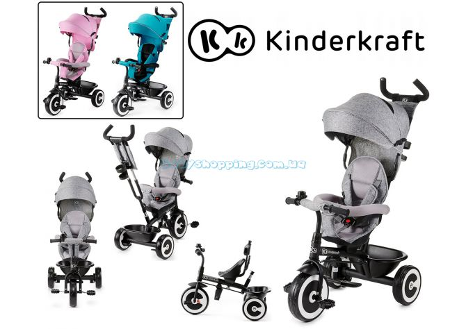 Трехколесный велосипед Kinderkraft Aston ����, �������� | Babyshopping