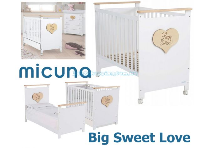 Детская кроватка Micuna Big Sweet Love ����, �������� | Babyshopping
