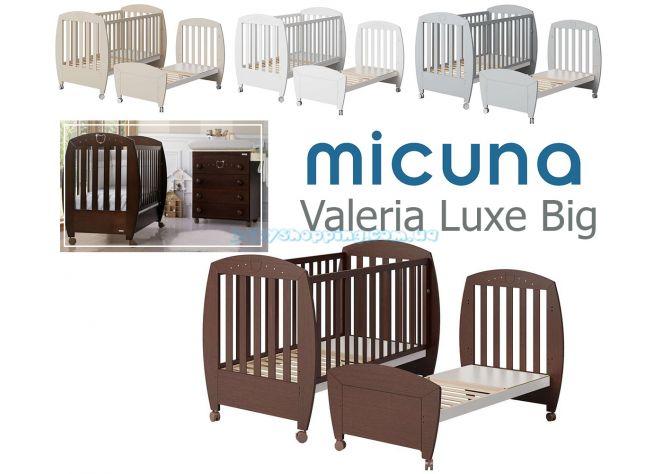 Детская кроватка Micuna Big Valeria LUX  ����, ��������   Babyshopping