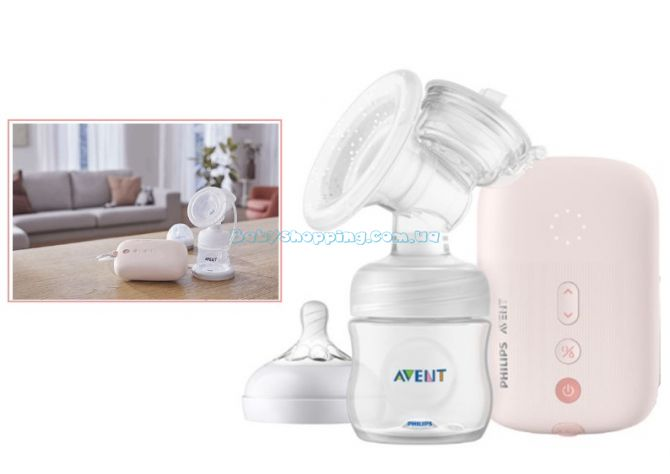 Електричний молокоотсос Philips Avent SCF395/11 ����, �������� | Babyshopping