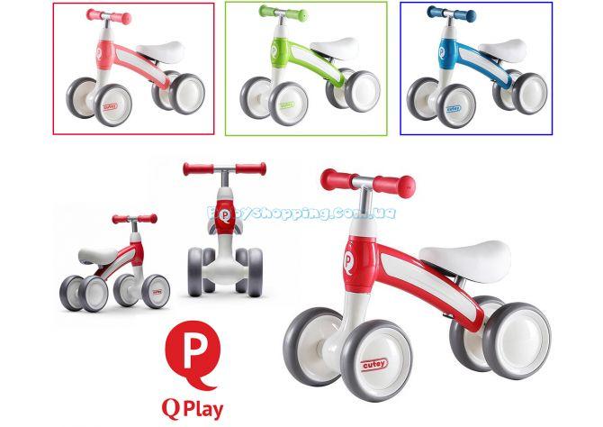 Детский беговел Qplay Cutey  ����, �������� | Babyshopping