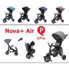 Складной трехколесный велосипед Qplay Nova+ Air ����, �������� | Babyshopping
