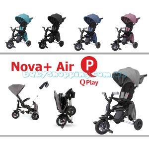 Складний триколісний велосипед Qplay Nova + Air фото, картинки | Babyshopping