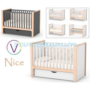 Детская кроватка Veres Nice ( маятник и ящик) фото, картинки | Babyshopping