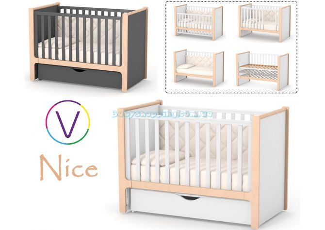 Детская кроватка Veres Nice ( маятник и ящик) ����, �������� | Babyshopping