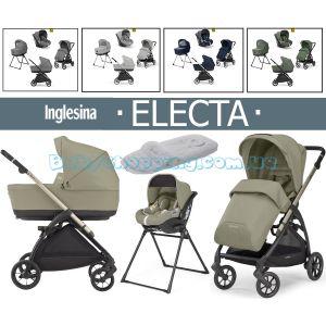 Детская коляска 4в1 Inglesina Electa с автокресло Darwin i-Size  фото, картинки   Babyshopping