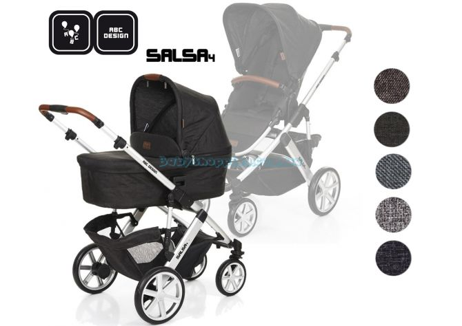 Универсальная коляска 2 в 1 ABC Design Salsa 4, 2018  ����, �������� | Babyshopping