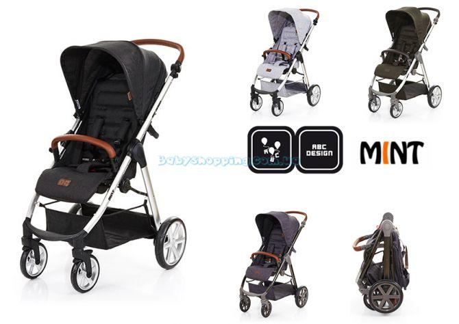 Прогулочная коляска ABC Design Mint , 2018 ����, �������� | Babyshopping