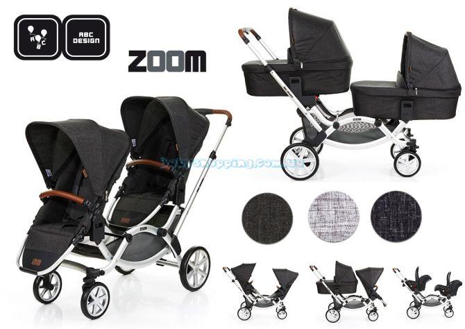 Универсальная коляска 2 в 1 ABC Design Zoom, 2018  ����, �������� | Babyshopping