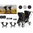 Прогулочная коляска для двойни ABC Design Zoom Air, 2018 ����, �������� | Babyshopping