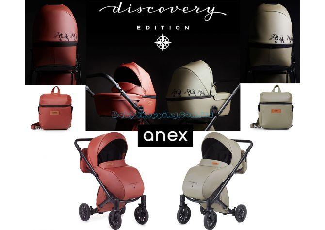 Универсальная коляска 2 в 1 Anex Cross Discovery Edition, 2018 ����, �������� | Babyshopping