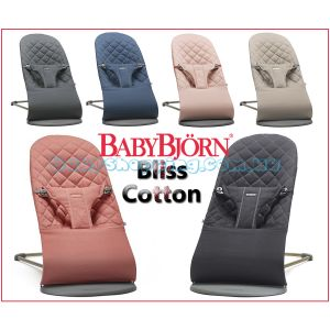 Шезлонг BabyBjorn Bliss Cotton, 2018 фото, картинки | Babyshopping