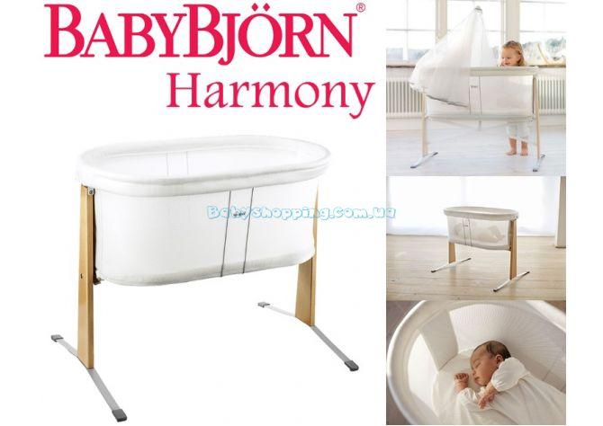 Детская кроватка для новорожденного BabyBjorn Harmony ����, �������� | Babyshopping