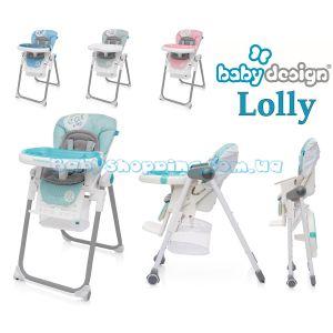 Стульчик для кормления Baby Design Lolly фото, картинки | Babyshopping