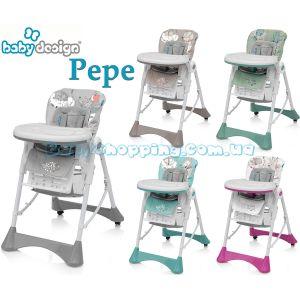 Стульчик для кормления Baby Design Pepe фото, картинки | Babyshopping