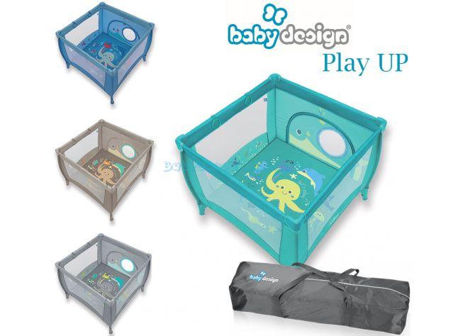 Детский манеж Baby Design Play Up, 2018  ����, ��������   Babyshopping